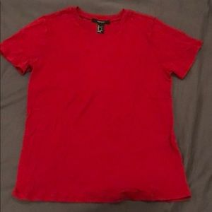 Forever 21 Red Shirt